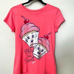 Justice BFFs are Sweet t-shirt